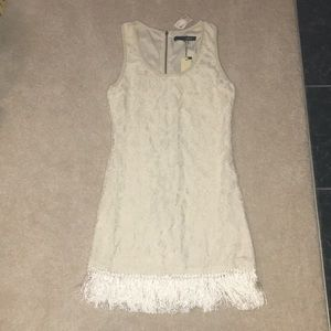 New with tags!! Sugar Lips Lace Fringe Dress